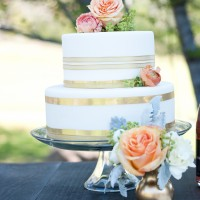 Gold Striped Wedding