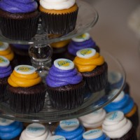 Dodgers & Lakers Cupcakes