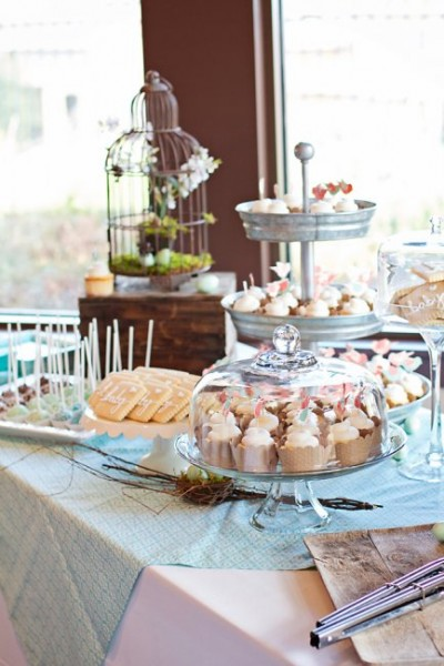 Baby Shower Dessert Bar Mjb Cakes