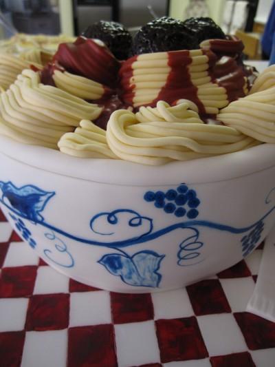 Bowl of Pasta Cake