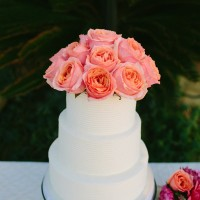 Pink & Peachy Wedding