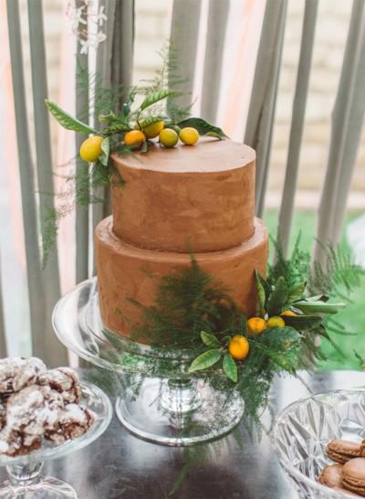 Tangerine Bridal Shower
