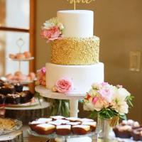Gold Sequins Wedding