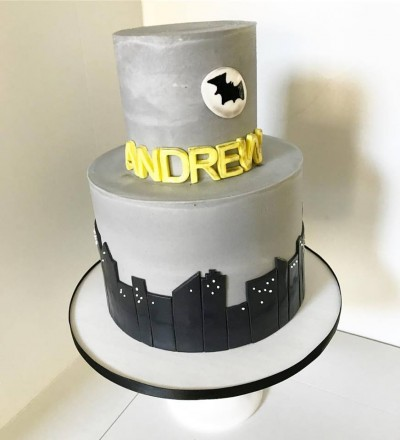 Batman Inspired Cake