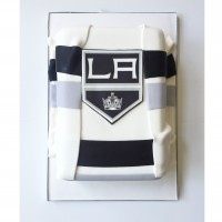 LA Kings inspired Jersey Cake