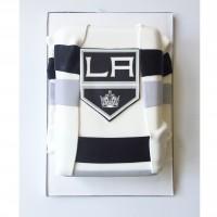 LA Kings inspired Jersey Cake
