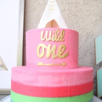'Wild One' boho birthday