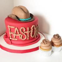 Cowboy Hat Baby Shower Cake